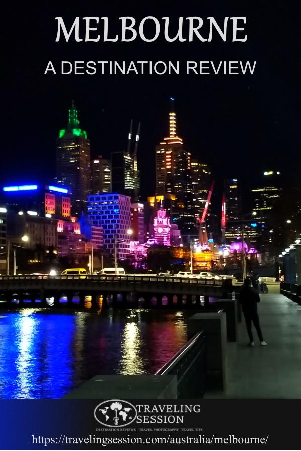 Melbourne Pin