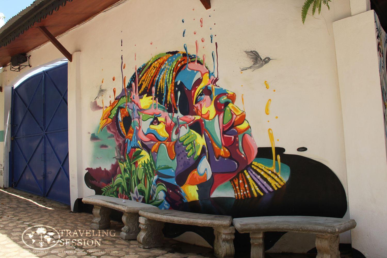 Bob Marley Mausoleum Mural