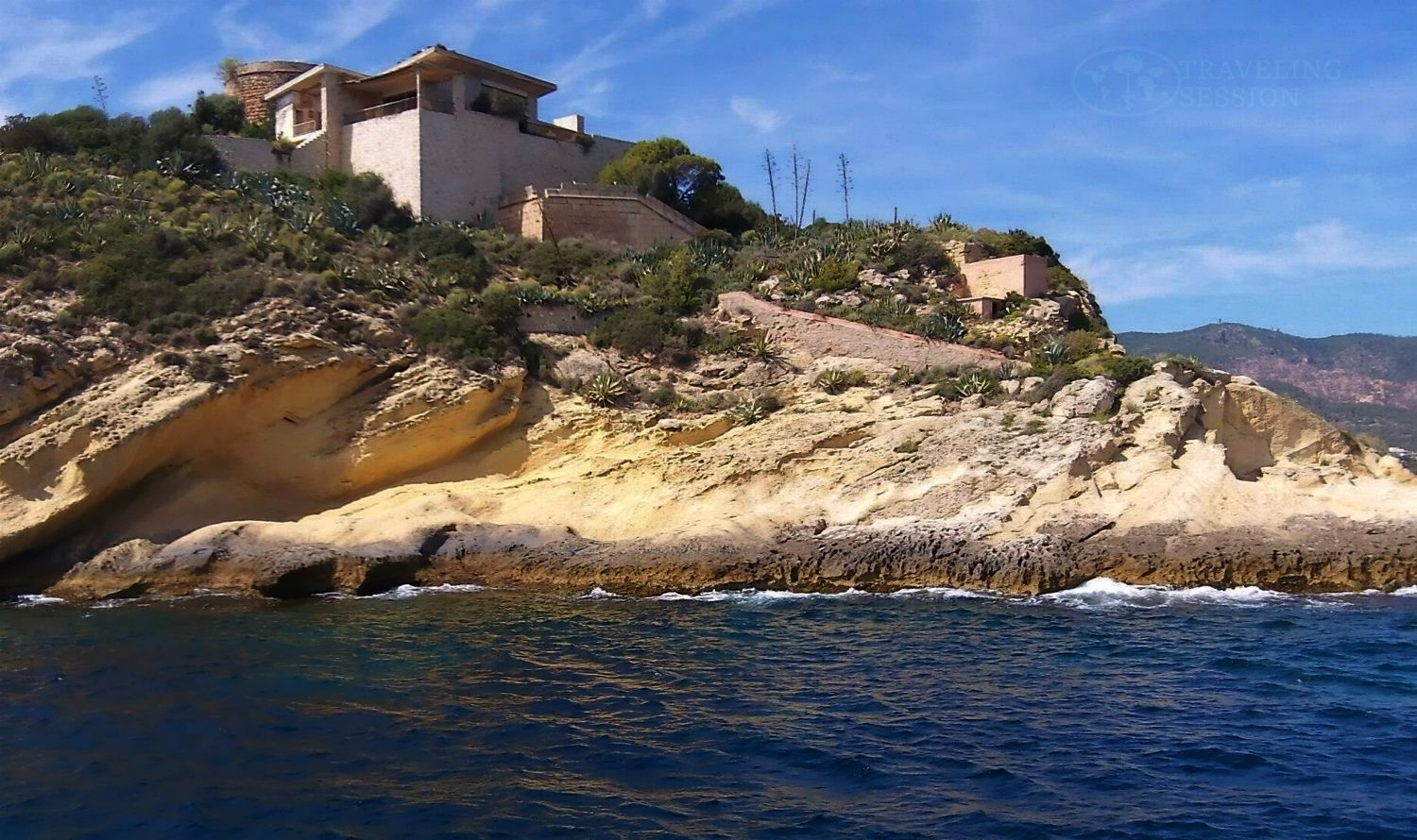 House on Mallorcan Cliff