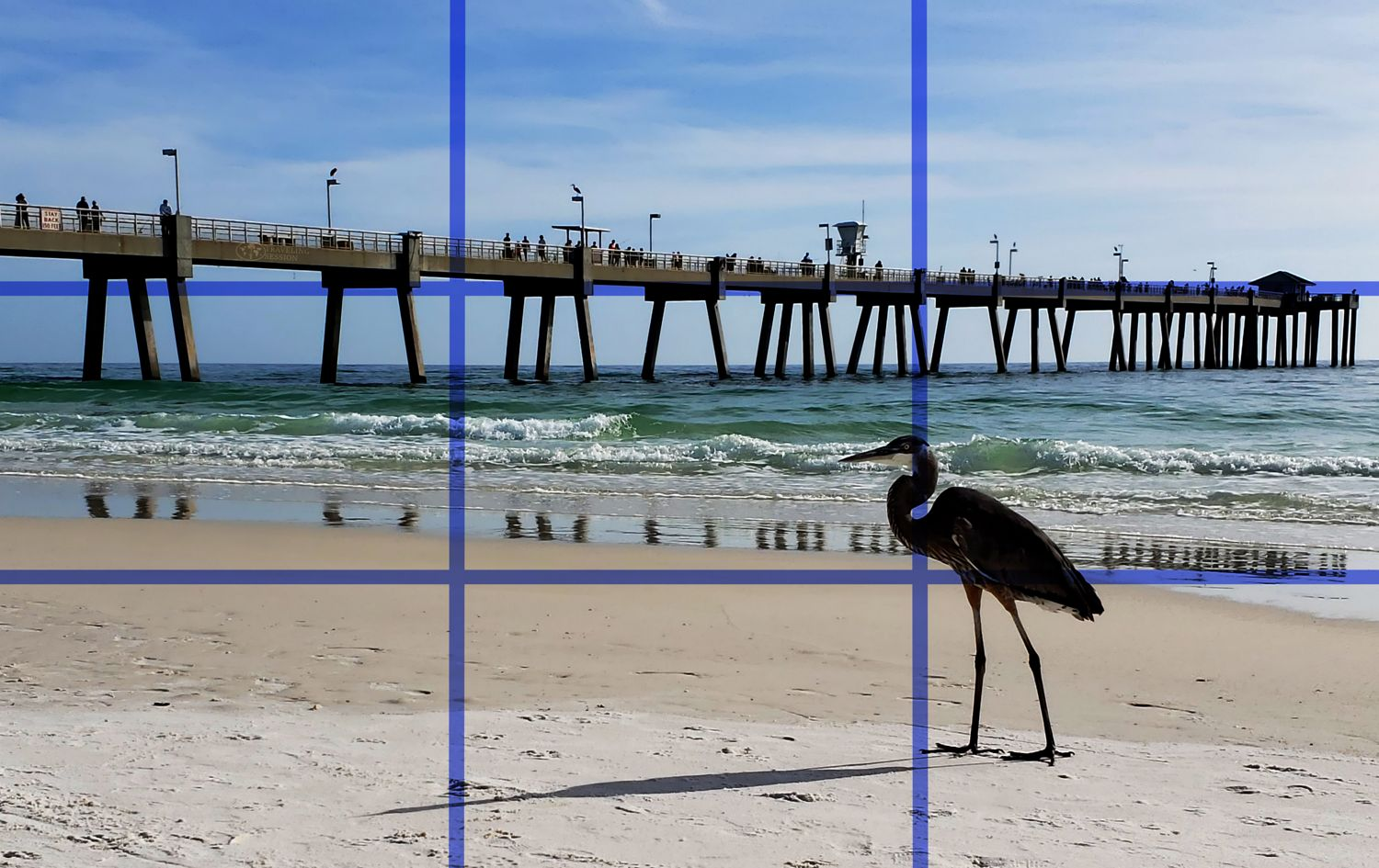 Okaloosa Island - Rule of Thirds