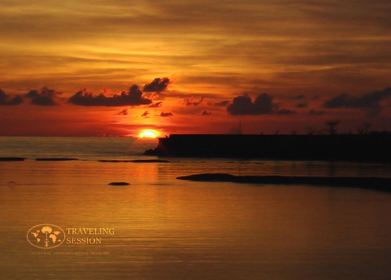 Taguchi Yomitan Sunset