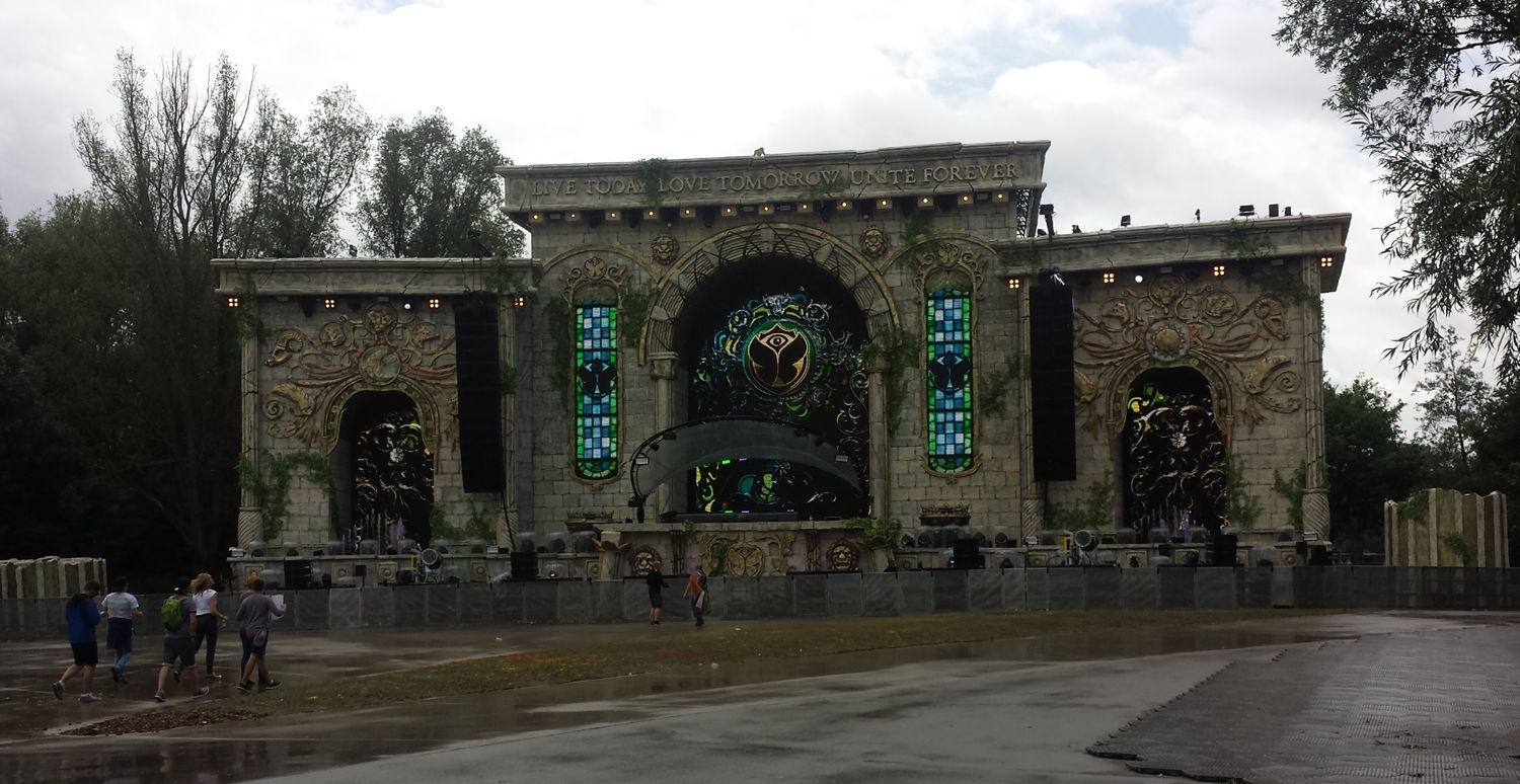 Tomorrowland Music Festival Grounds