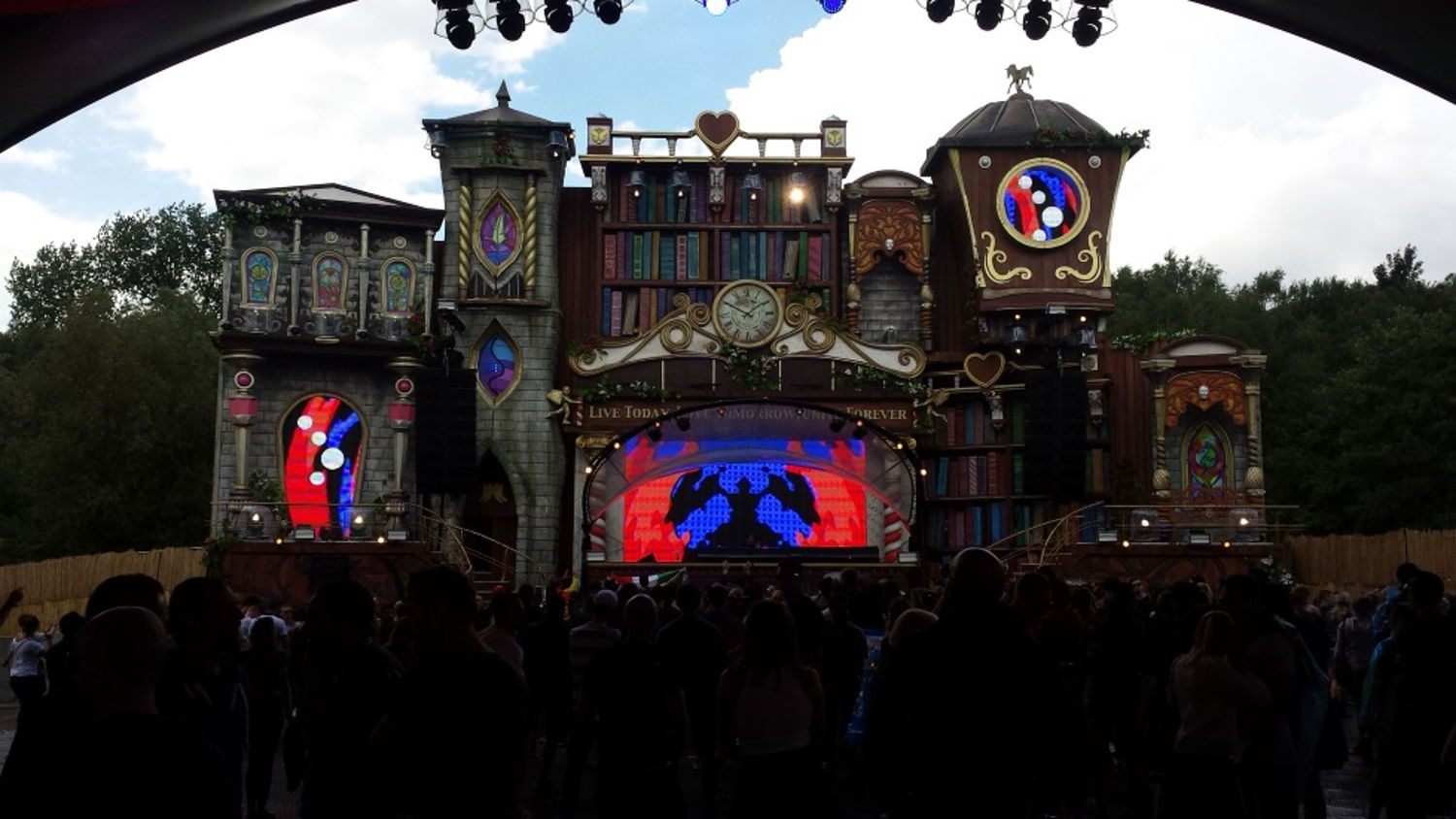Tomorrowland Music Festival Stage