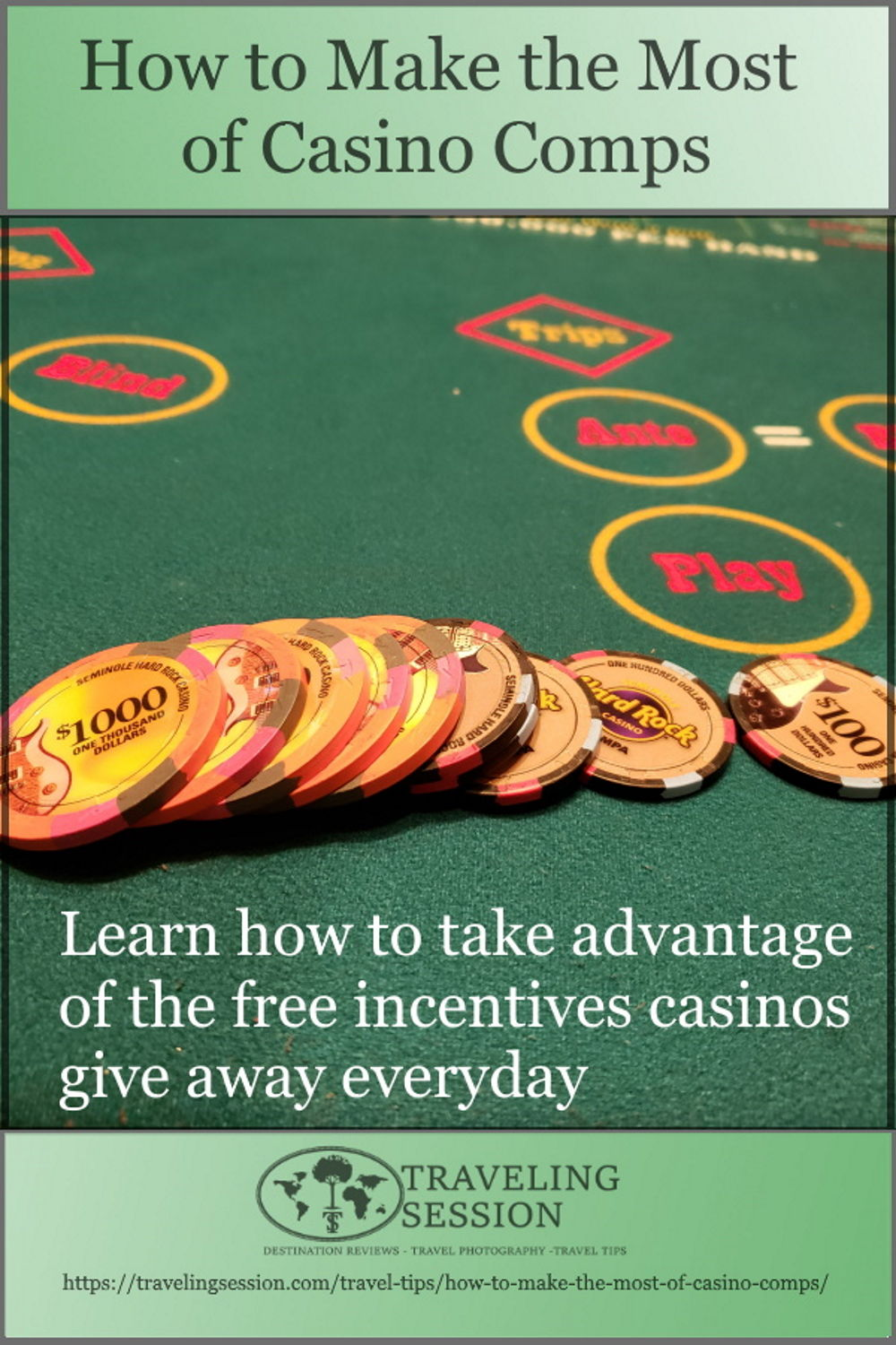Casino Comps Pinterest Pin
