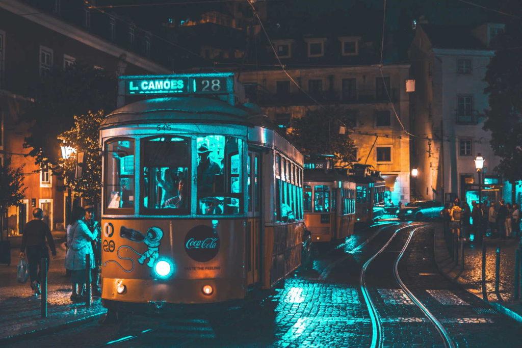 People riding on a city tram Lisa Fotios/Pexels.com
