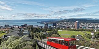 Wellington, New Zealand- photo by Makalu from Pixabay