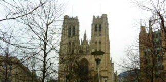 St Michael and St Gudula Cathedral, Brussels