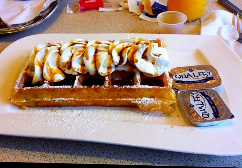 Brussels Style Waffles
