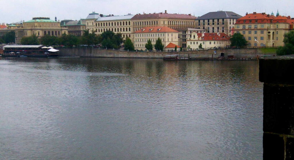 Prague from the Vltava River