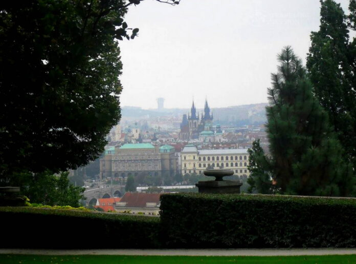 View from Prague Palace